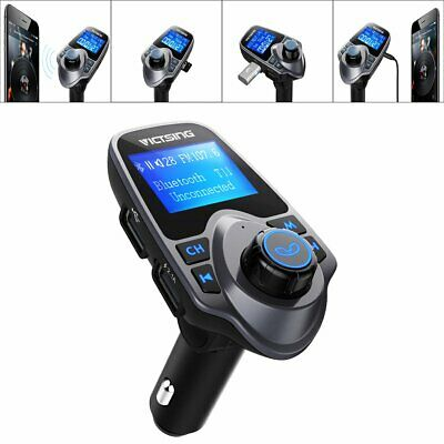 Wireless Bluetooth FM Transmitter Radio Car Kit MP3 Player USB Charger CANADA