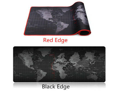 Extra Large World Map Anti-Slip Game Mousepad Speed Edition Gaming Mouse Pad Mat