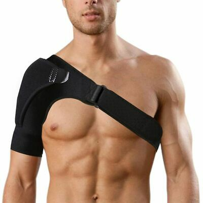 Adjustable Shoulder Support Protector Brace Joint Pain Injury Strap Sport Traini