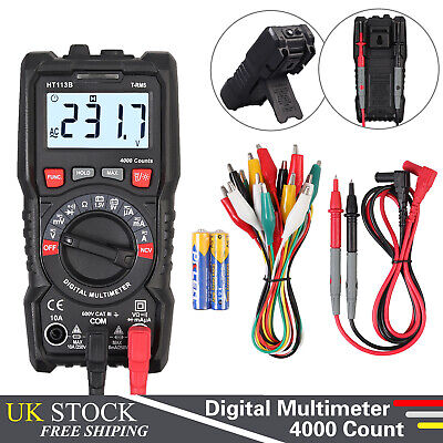 Digital LCD K-Type Thermometer 4 Channel Thermocouple Sensor With Probe sensor