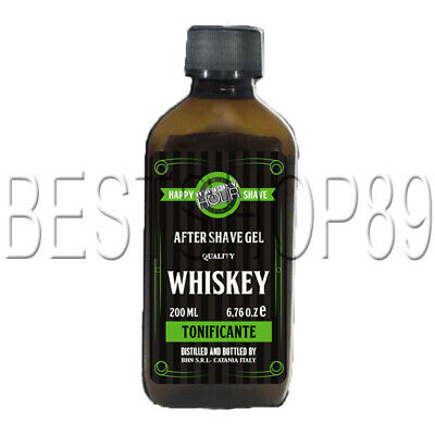 Happy Shave Whiskey - Jack Julep After Shave Cream Tonificante 200 ml