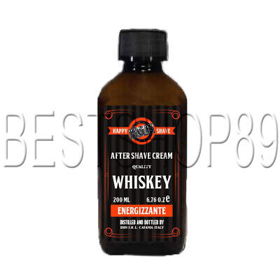 Happy Shave Whiskey - Hot Tennessee Toddy After Shave Cream Energizzante 200 ml