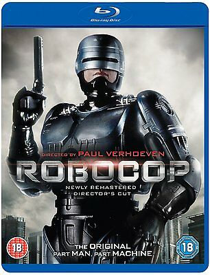 Robocop Remastered Blu-Ray BRAND NEW / SEALED