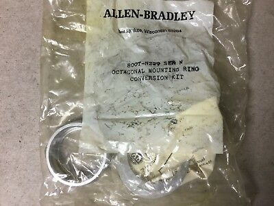 Allen Bradley 800T-N229 Octagonal Mounting Ring Conversion Kit-New In Bag