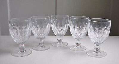 Waterford Crystal Cut Glass COLLEEN Short Stem Water Goblet