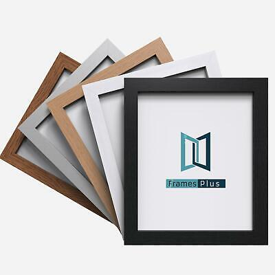 Photo Picture Poster Frame Large Multiple Sizes Black White Silver Pewter