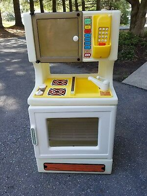 Vintage Little Tikes Kitchen Set With Phone
