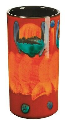 Poole Pottery Volcano Ceramic Pillar Vase 17cm First Quality UK Made
