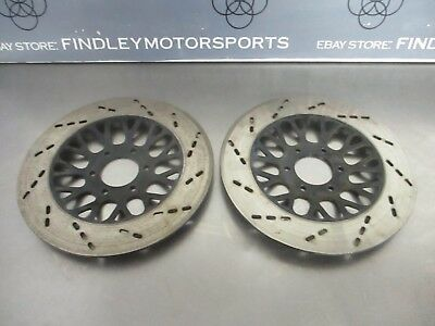 1982 Suzuki GS650 GS650G Front Brake Rotors Left Right 59211-45250 59221-45250