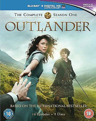 Outlander - Complete Season 1  Region Free - Blu-ray - Brand New - 5050629993615