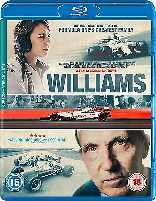 Williams [Blu-Ray] Brand New Fast Post Morgan Matthews 5021866830308