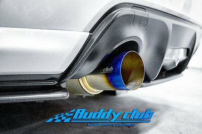 Buddy Club Racing Spec Titanium Cat-Back Exhaust System For 12+ FRS / BRZ / FT86