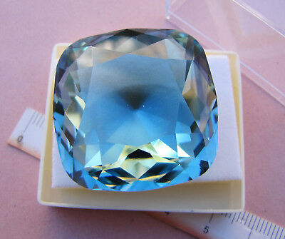 Enorme TOPAZIO LONDON BLUE NATURAL BRAZILIAN TOPAZ GEMSTONE ct. 151