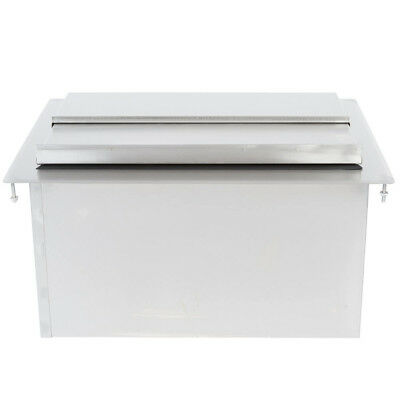 "Regency 18"" x 24"" Stainless Steel Drop-In Ice Bin"