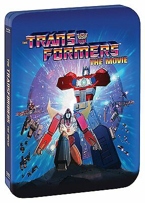 The Transformers: The Movie - Limited Edition 30th Anniversary Steelbook Blu-ray