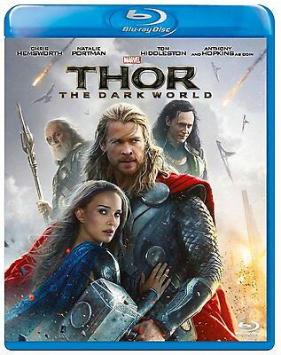 Thor: The Dark World BLU RAY - NEW - SEALED - REGION FREE - 8717418420574