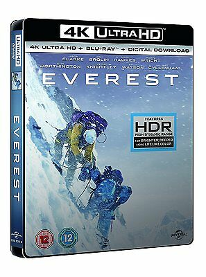 Everest [4K UHD] [Blu-ray] Brand New Jason Clarke Jake Josh Brolin 5053083111038