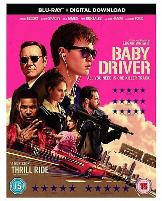 Baby Driver [Blu-ray] [2017] Brand New Pre-Order 5050629427738