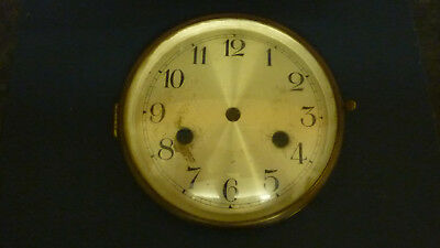 Clock Parts. Old Vintage Clock Bezel / Dial with Glass. (BG1)