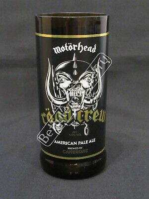 Motorhead Road Crew American Pale Ale/beer Hi-Ball Tumbler Glass - 100% Recycled