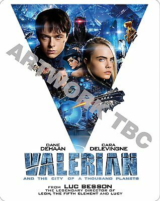 Valerian & The City Of A Thousand Planets Steelbook Blu-Ray 3D Pre-Order