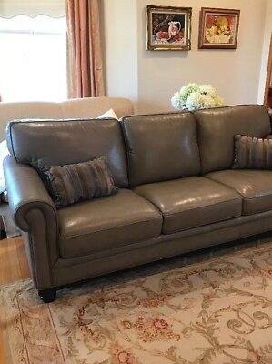 Used Leather Sofa Couch