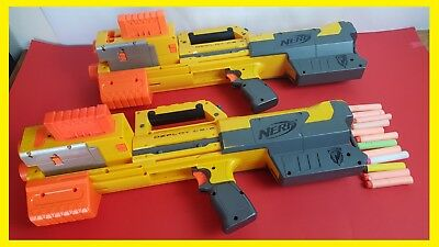 ~~2X Nerf Guns N-Strike Elite Deploy Cs-6 + Clips + Darts