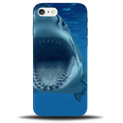 Shark Phone Case Cover Jaws Sharks Great White Tooth Teeth Gift 3D Plastic b106