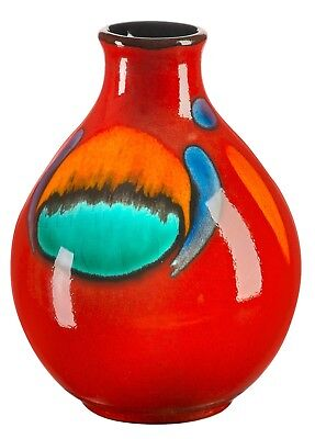Poole Pottery Volcano Ceramic Small Bud Vase 12.5cm First Quality UK Made