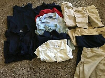 Lot of Girls School Uniform Sizes 7-12