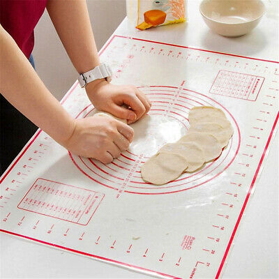 Silicone Baking Mat Pastry Bakeware Silpat Cake Tray Oven Dough Rolling Sheet
