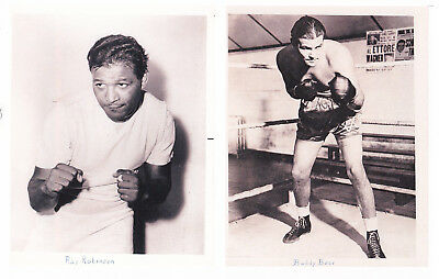 8x10 Glossy Photo Prints  RAY ROBINSON  17 LOT CHECK IT OUT