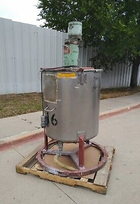 Nettco Mixer With 100 Gal Mixing Tank And Bottom Outlet Nsgb-033 & Nsgb-050