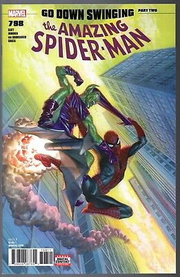 ⭐ Amazing Spider-Man #798 Alex Ross Cover, 1st app of Red Goblin! 1st Print ⭐