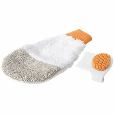 Safety 1st Cradle Cap Care Mitt & 2 In 1 Comb Brush Grooming Baby Toddler Hair