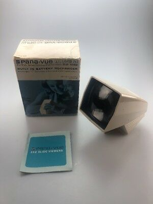 GAF Pana - Vue Automatic Lighted 2x2 Slide Viewer adapter instructions