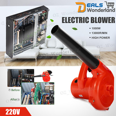 220V 1000W Electric Air Blower Hand Operated Computer Vacuum Dust Cleaner