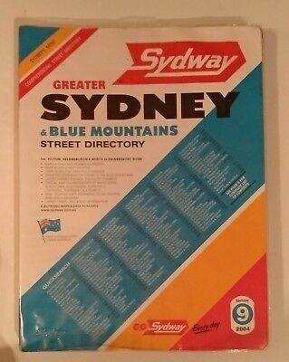 Greater Sydney Map Street Directory Edition 9 2004