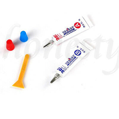 302 Two-Component Acrylate Adhesive 1+1 AB Glue Super Stick Glue Sticky New