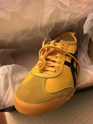 the best attitude 29c8f 25d51 ASICS ONITSUKA TIGER Mexico '66 Yellow Leather Size 8 Sneakers