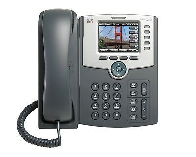 Cisco SPA525G2 VoIP SIP WiFi 5-Line IP Phone Color Bluetooth SPA525 PoE Version