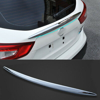 ABS Chrome Rear Door Trunk Lid Cover TRIM for Nissan Qashqai 2014 2015 2016 1pcs