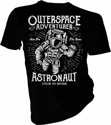 Outer Space Adventure, Astronaut, Spaceman, Nasa, Rocket  Adult & Kids T-Shirt