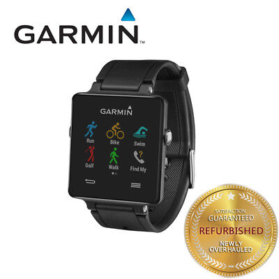 Garmin Vivoactive GPS Smart Watch Black Fitness Monitor Multi-Sport