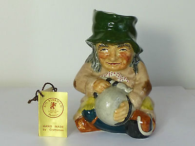 Fantastic Roy Kirkham Staffordshire Pottery Tinker Character Jug With Swing Tag