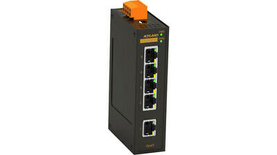 5 Way Industrial 24VAC/DC Ethernet Switch
