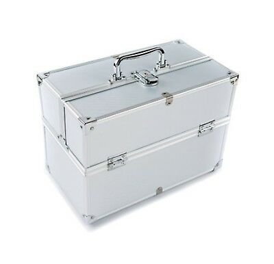 Extra Large Space Storage Beauty Box Make up Nail Jewelry Cosmetic Vanity Cas...