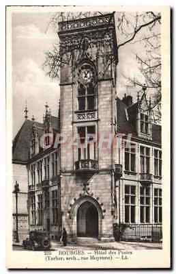CPA Bourges hotel des Postes
