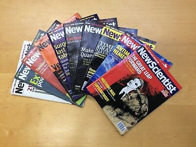 NEW SCIENTIST MAGAZINE 10 x ISSUES 17 JULY - 18 SEPT 2004