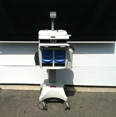 Rubbermaid Medical Solutions Powered Cart w/ Monitor Stand No Battery